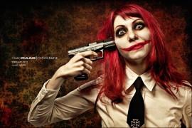 Marie Military Freak Clown Horror Trash