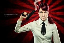 Marie Military Agent James Bond Pistole P99