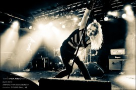 Anneke van Giersbergen Metal Colos-Saal Aschaffenburg Konzertfotos Konzertfotografie The Gathering Devin Townsend Project