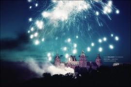 Feuerwerk Aschaffenburger Volksfest Fotografie HDR 2012 Schloß Schloss Aschaffenburg
