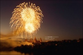 Feuerwerk Aschaffenburger Volksfest Fotografie HDR 2012