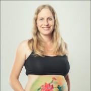 Illi Babybauch Belly Bellypainting Babybauchbemalung Bodypainting Schwangerschaft Kinderbilder Kinderbilder  (3)
