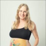 Illi Babybauch Belly Bellypainting Babybauchbemalung Bodypainting Schwangerschaft Kinderbilder Kinderbilder  (2)