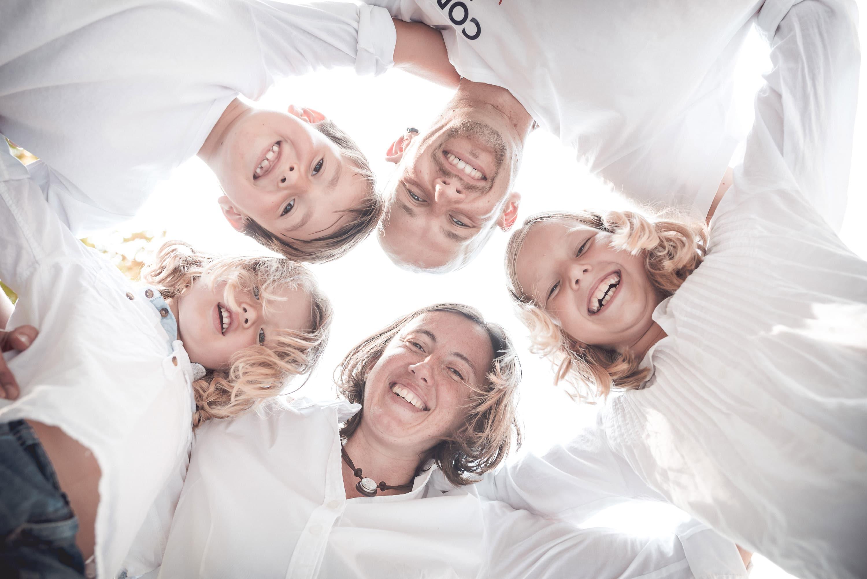 Aussergewöhnliches FamilienBild Gruppenfoto