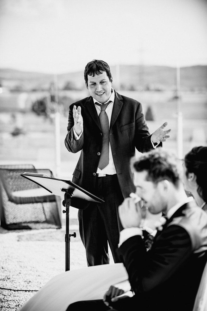 Freudentränen Trauredner Mann Gefühle Liebe Hochzeit romantisch Emotionen