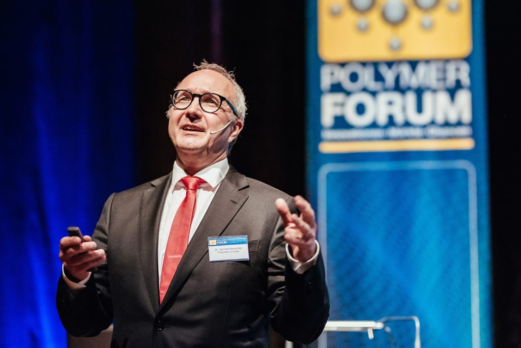 Eventfotografie Tagung Polymer Forum Vortrag Speaker