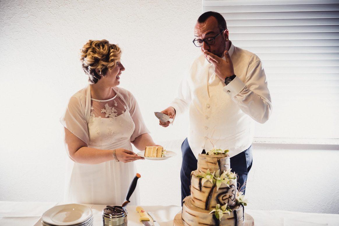 Lecker Finger Torte Holz Spaß Schlecken Braut Bräutigam Kuchen