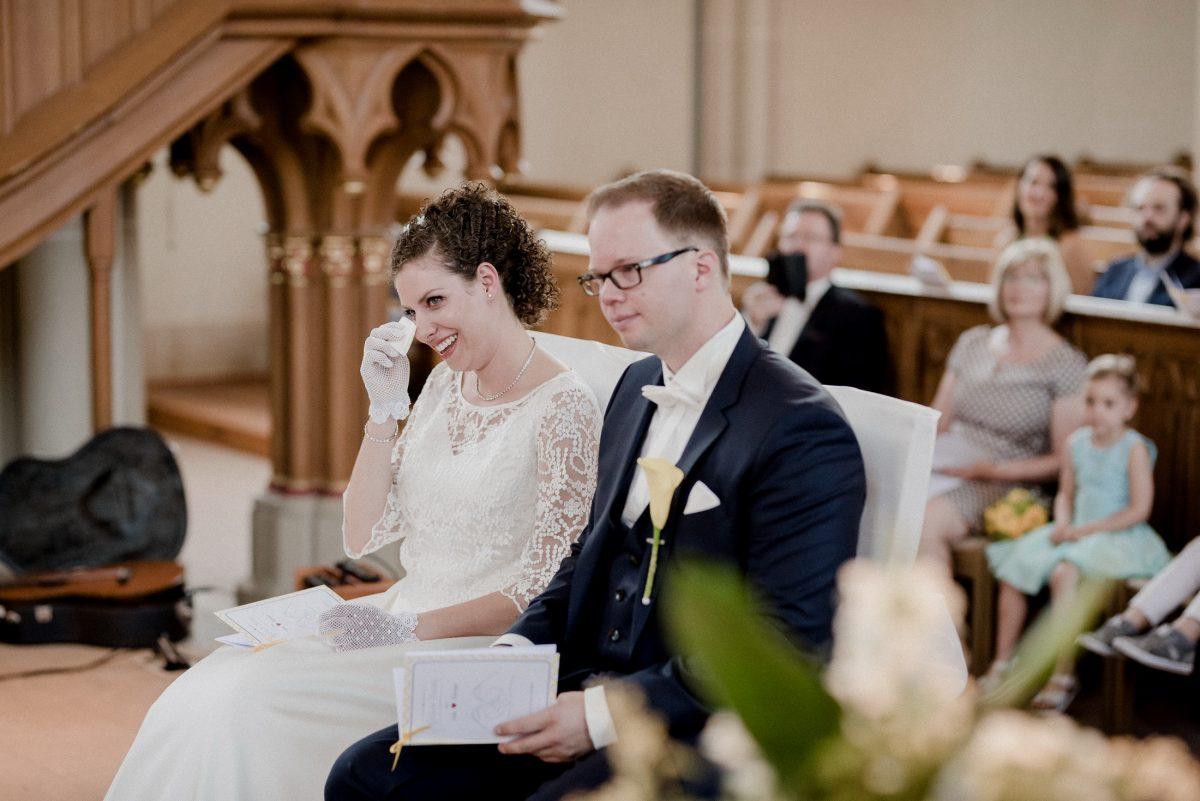 Rede Freudentränen Gefühle Ehe Mann Frau Programmheft emotional