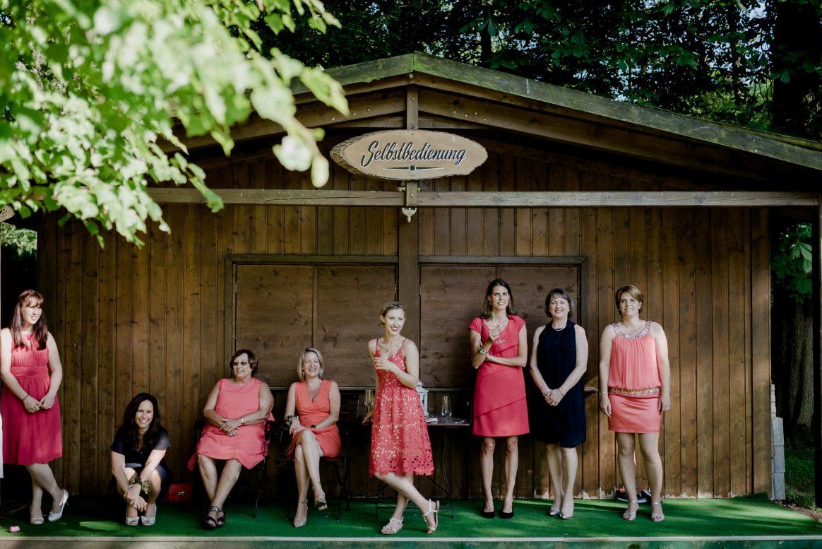 Girls Apriko Blau Frauenpower Kleider schön Fotografie