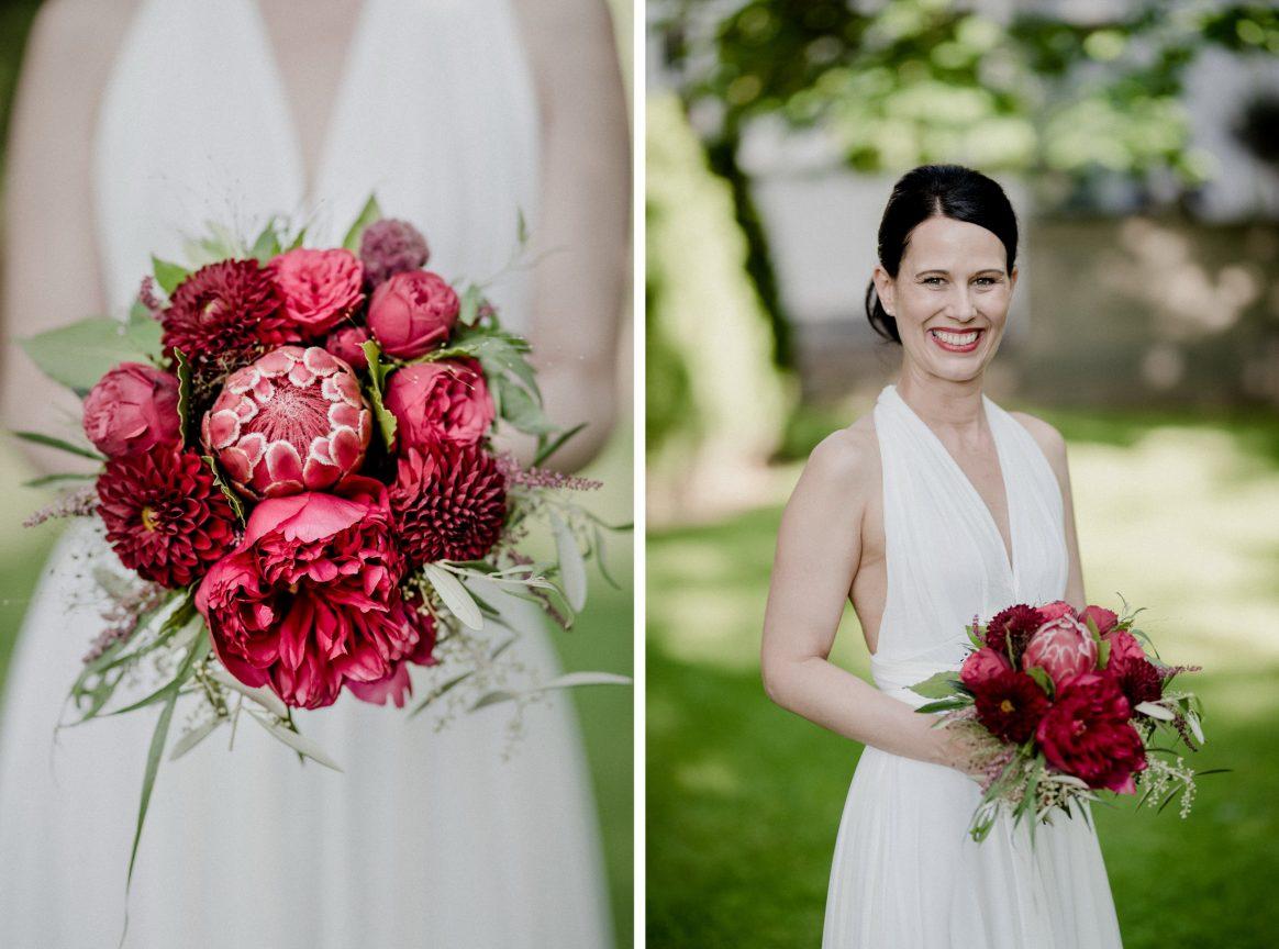 Brautstrauß Pink Lila Grün Braut Shooting Blumen Rosa Weiß