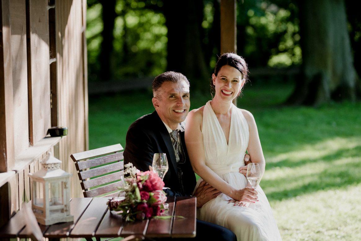 Liebe Sekt warm Sommer Bräutigam Liebespaar Hochzeit