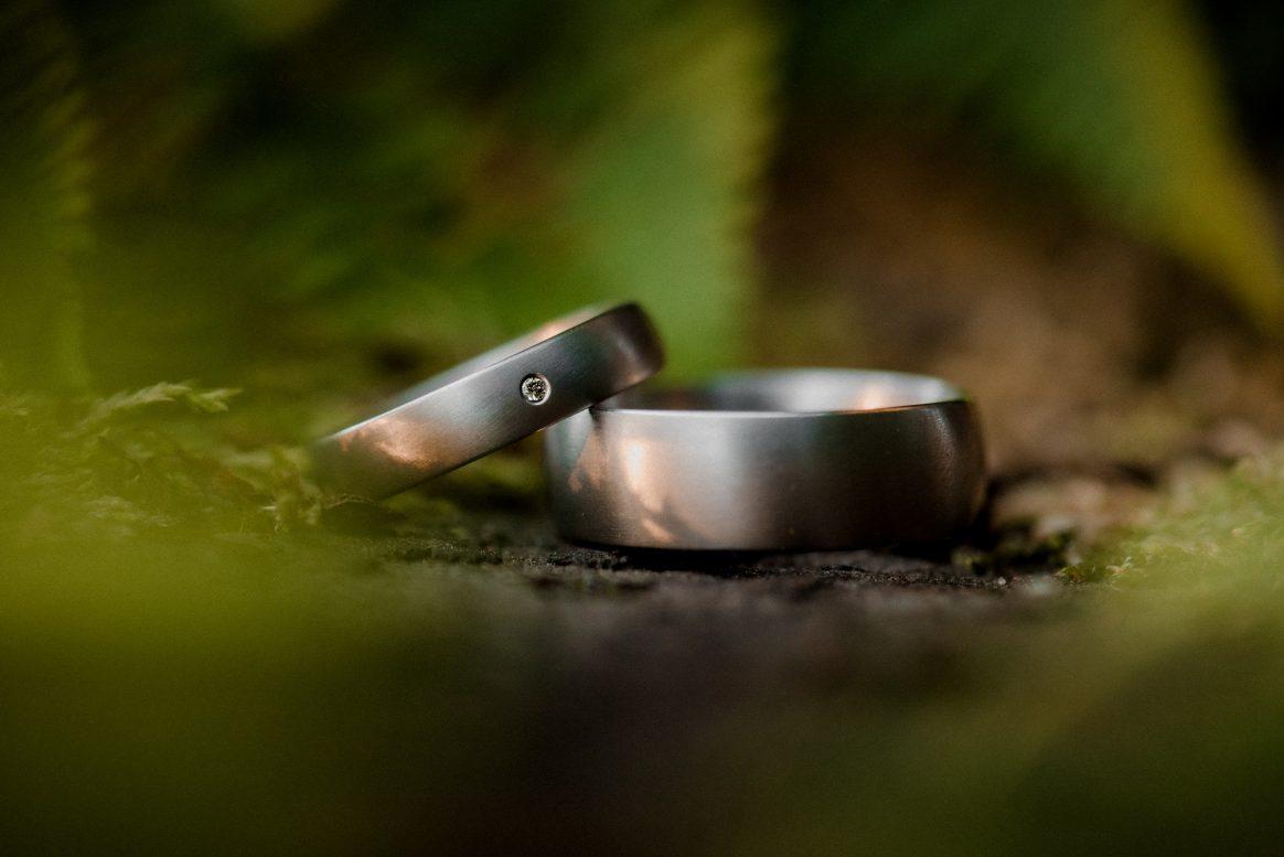 Ringe Mann&Frau silber Steinchen Trauringe Hochzeit Ewigkeit