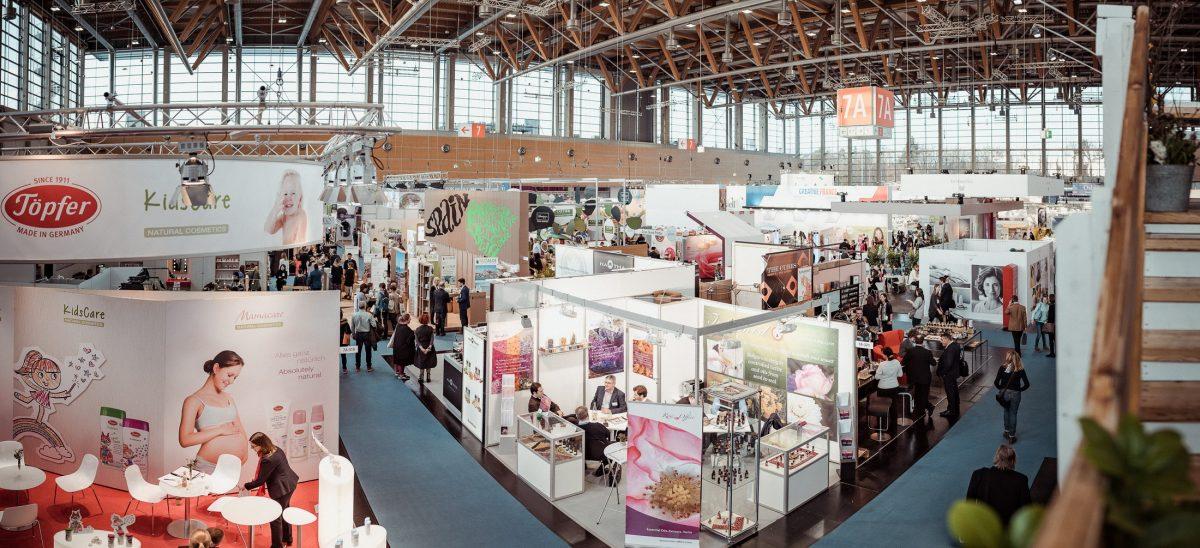 Vivaness Übersicht Nürnberg Fachmesse Naturkosmetik Panorama Messe