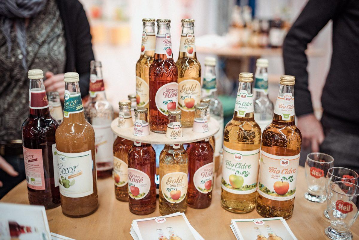 Bio Cidre Heil Kelterei Lecker Biofach Nürnberg Biogetränke