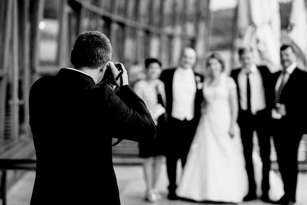 fotografieren Kamera unscharf Braut Bräutigam Männer Frau