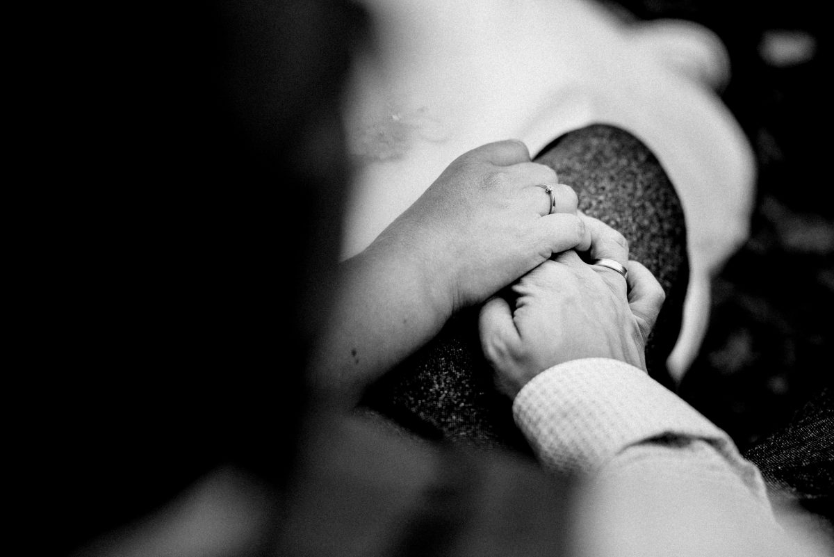 Eheringe Hände verliebt