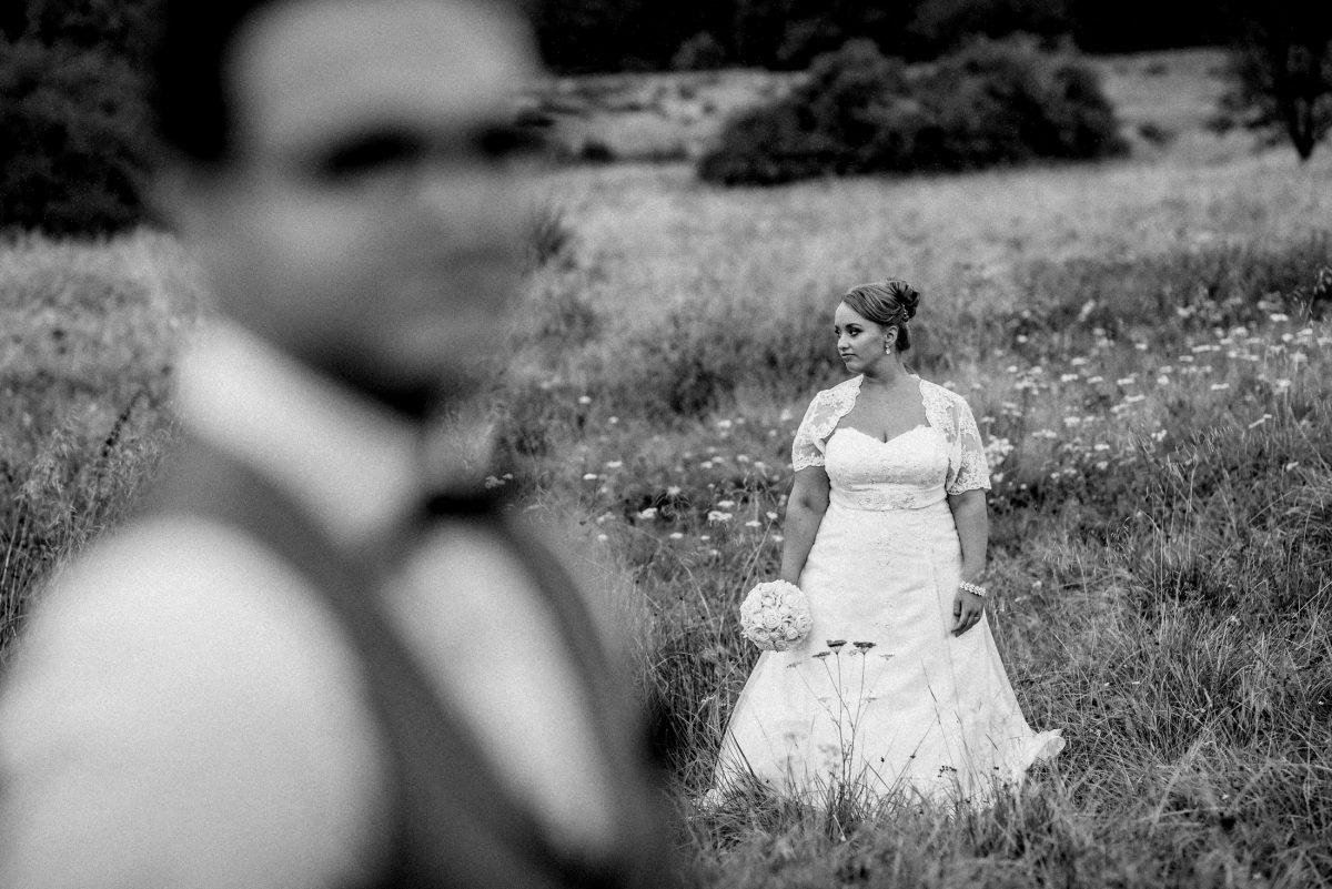 Wiese Brautstrauss verträumt Blumenwiese
