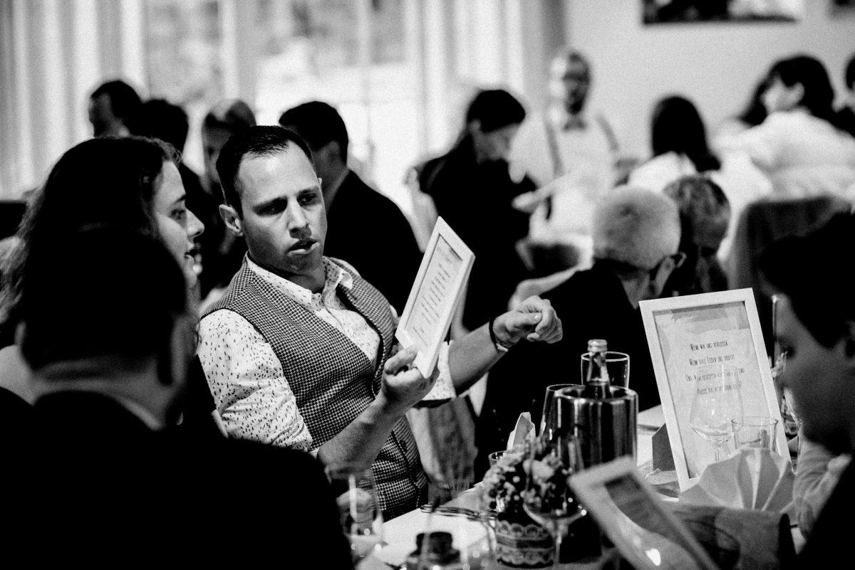 Menükarte Buffetkarte Essen Getränke Hochzeit Sitzplatz