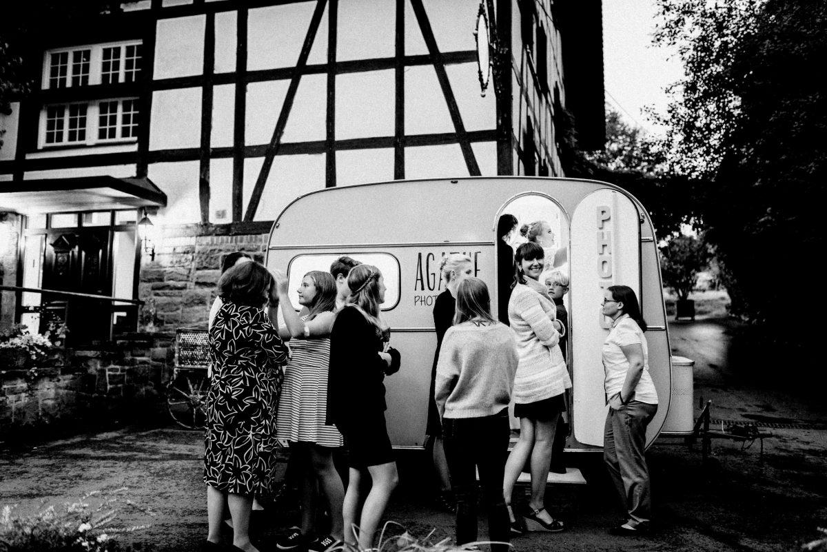 Dammühle Marburg Wohnwagen Fotobox Gästefotos