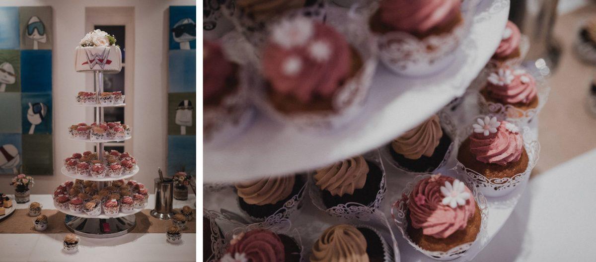 Dessert Hochzeit cupcakes cupcaketurm