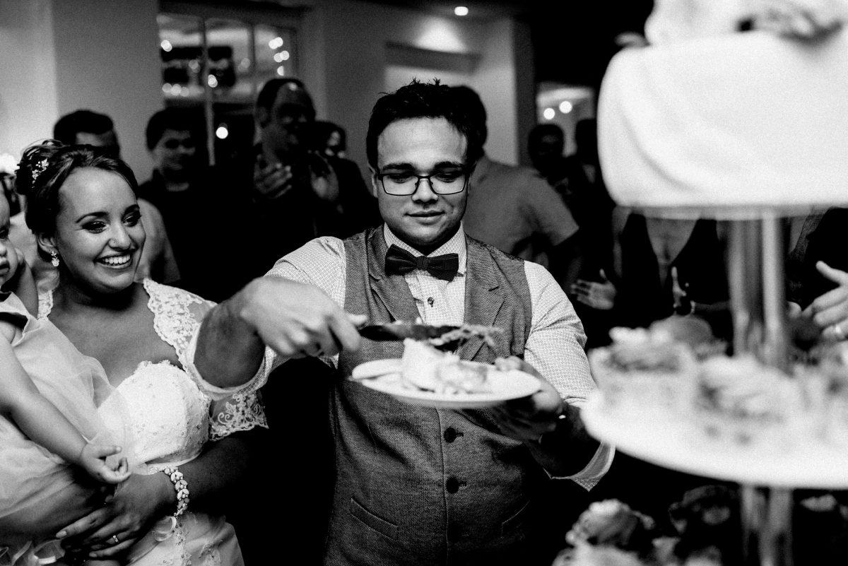 Tortenstück wedding cake