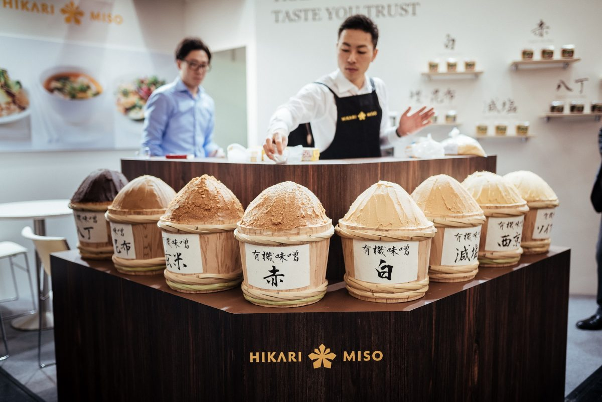 Hikari Miso Stand Messe