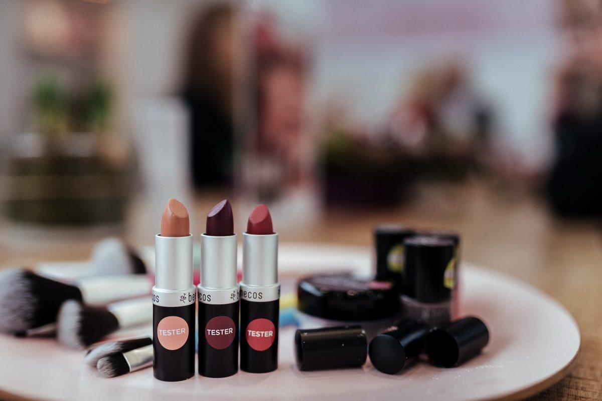 benecos Lippenstift Tester Pinsel