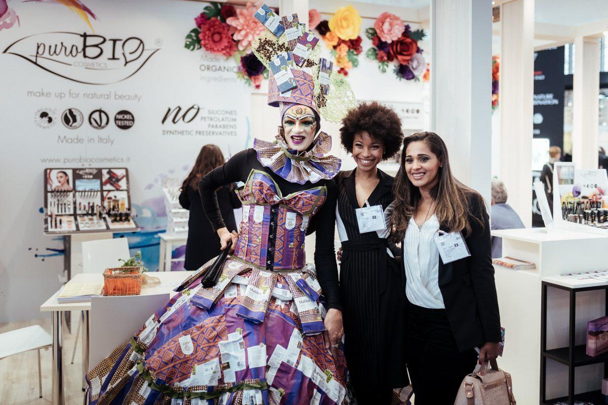 Puro bio Frauen Kleid schminke