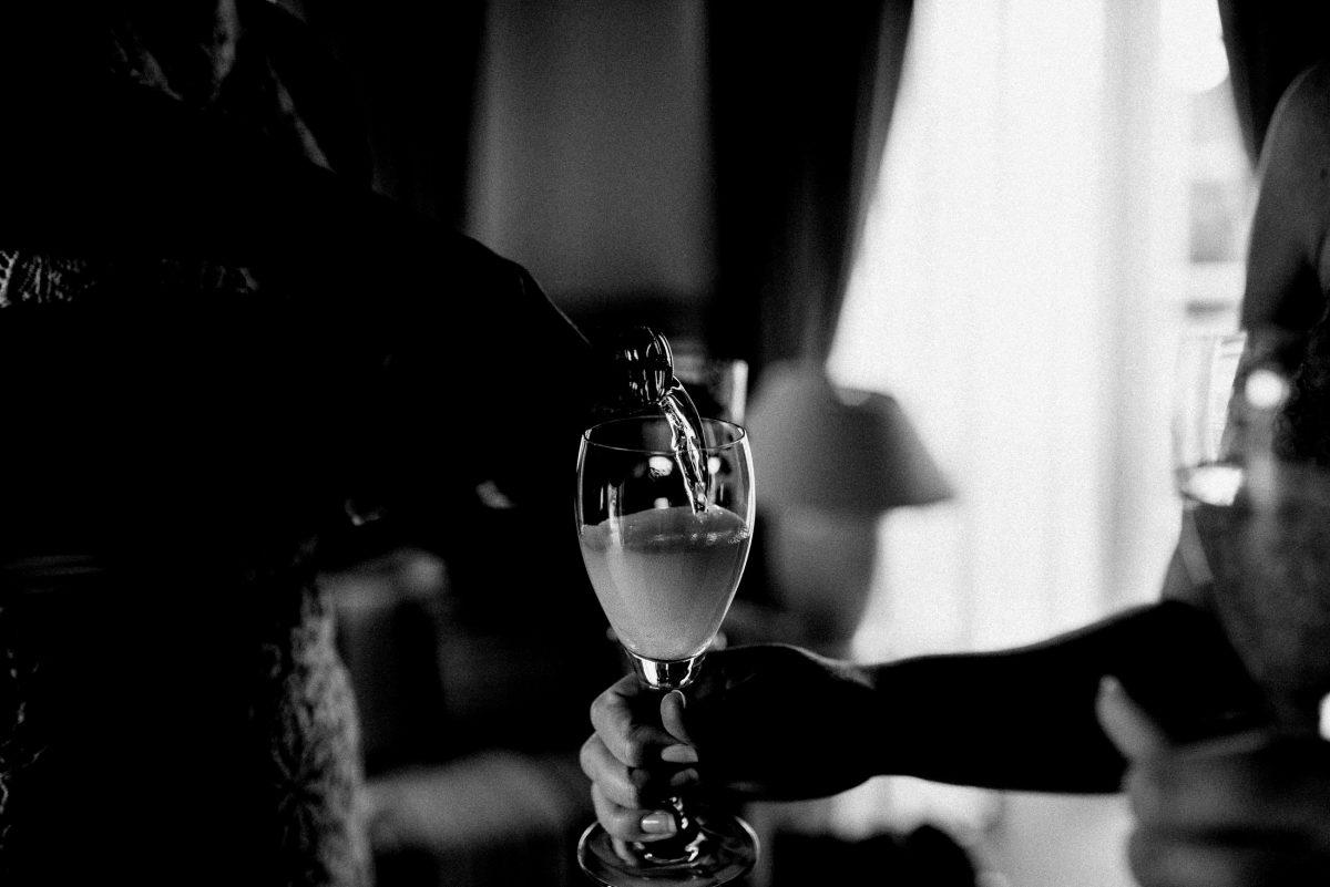 Getränk Glas Flasche