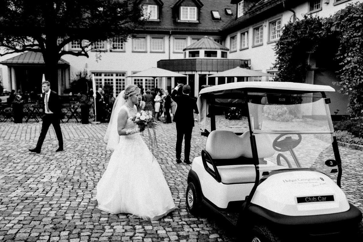 Hofgut Georgenthal Golfauto Bride
