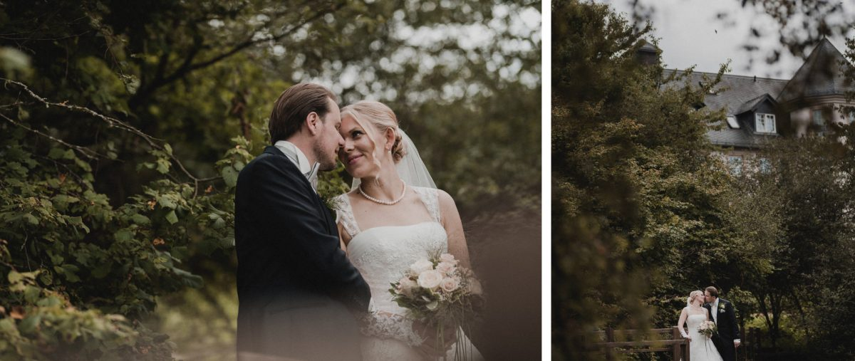 Hochzeitsshooting Bäume zweisamkeit