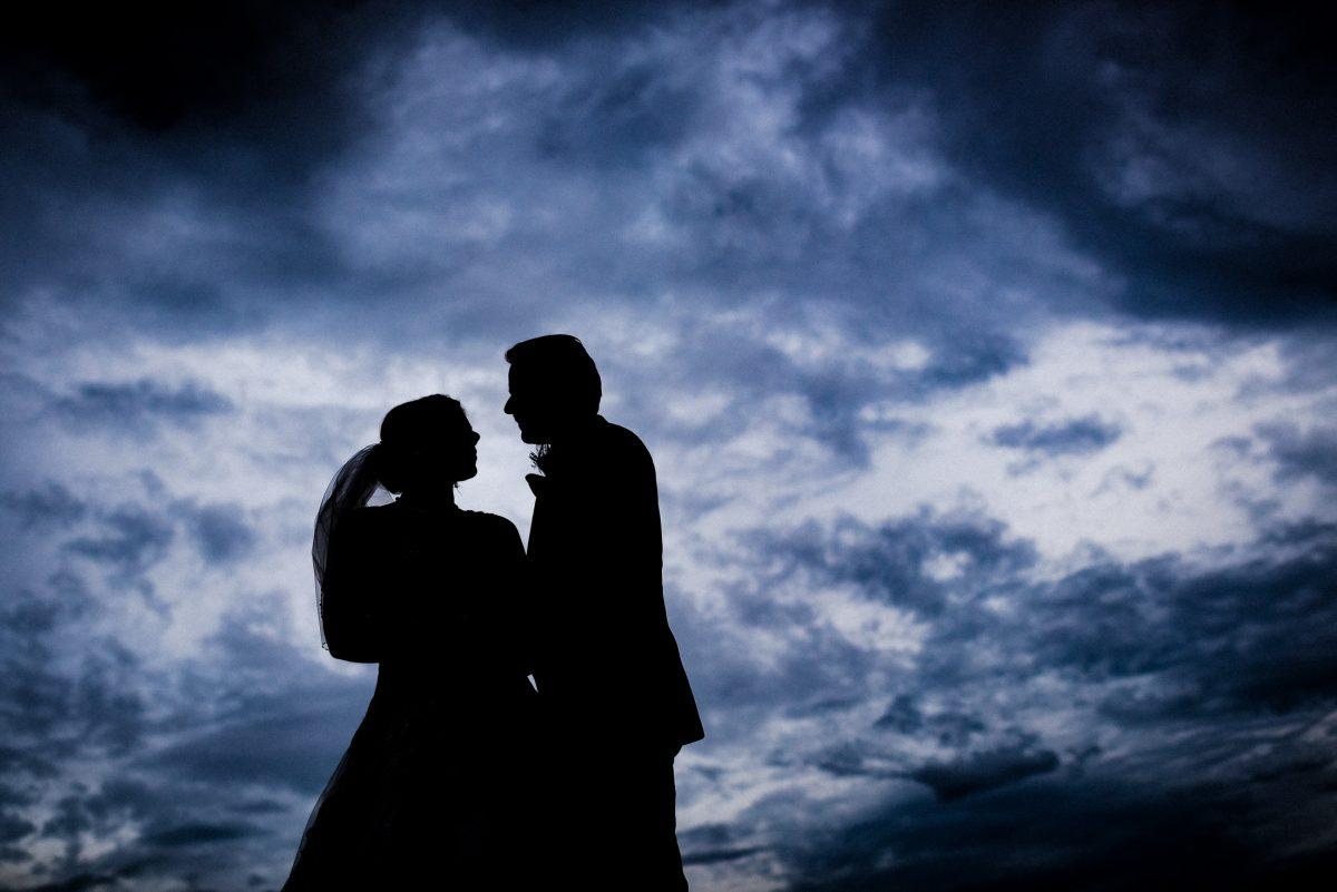 Wolken umrisse Wedding Shooting
