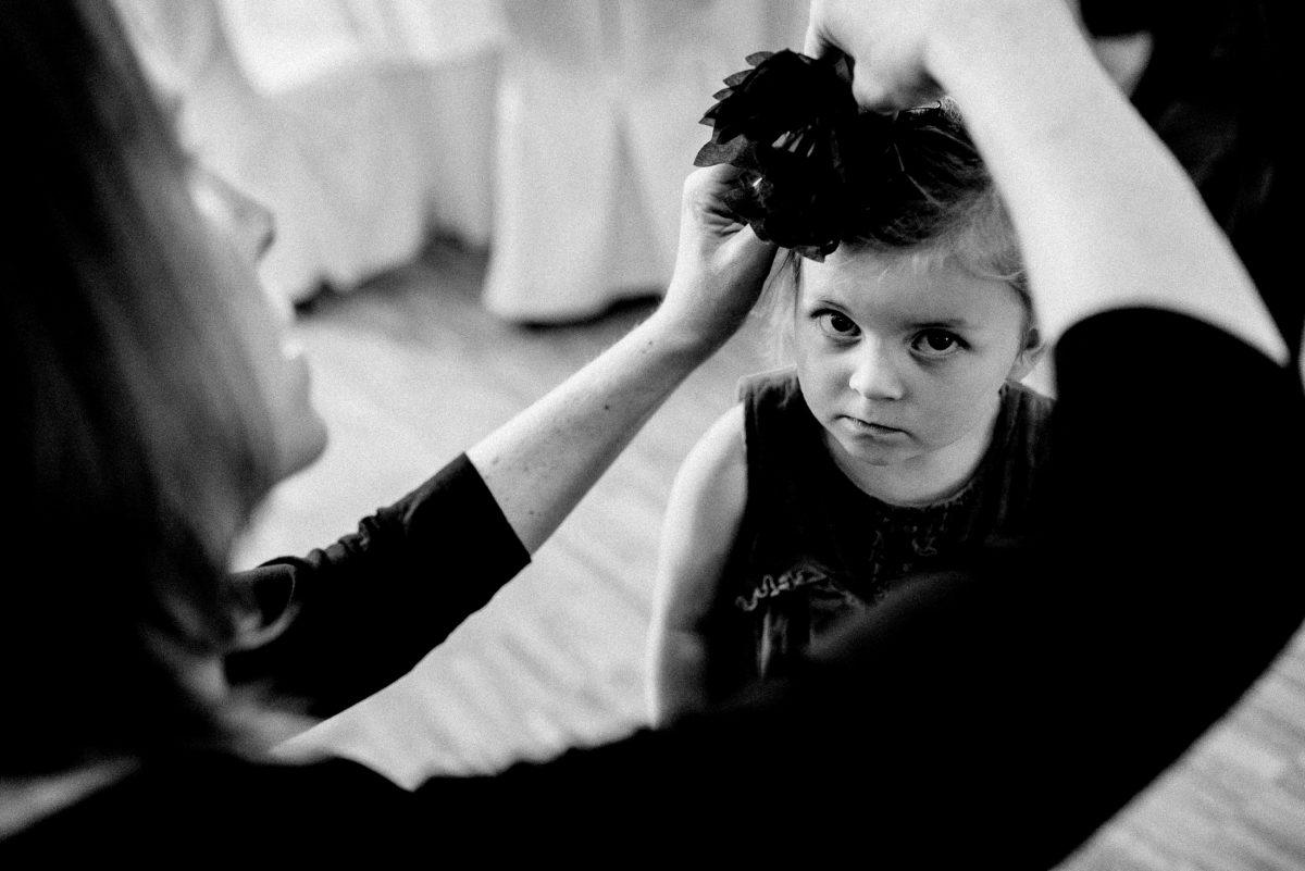 Haarklammer Kind Mädchen stylen