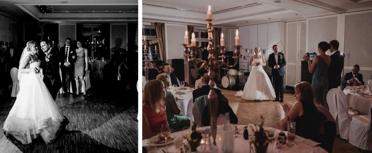 eröffnungstanz hochzeitstanz Brautpaar kerzen Tanzfläche
