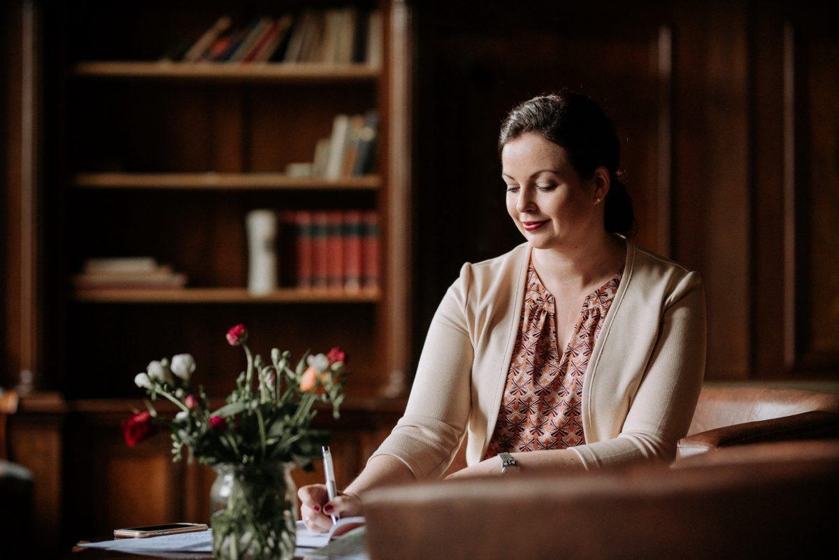 Katrin Bausewein Rede schreiben Blumen