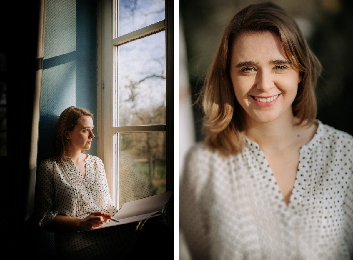 Diana Bär Traumrede in Gedanken Notizen Fenster