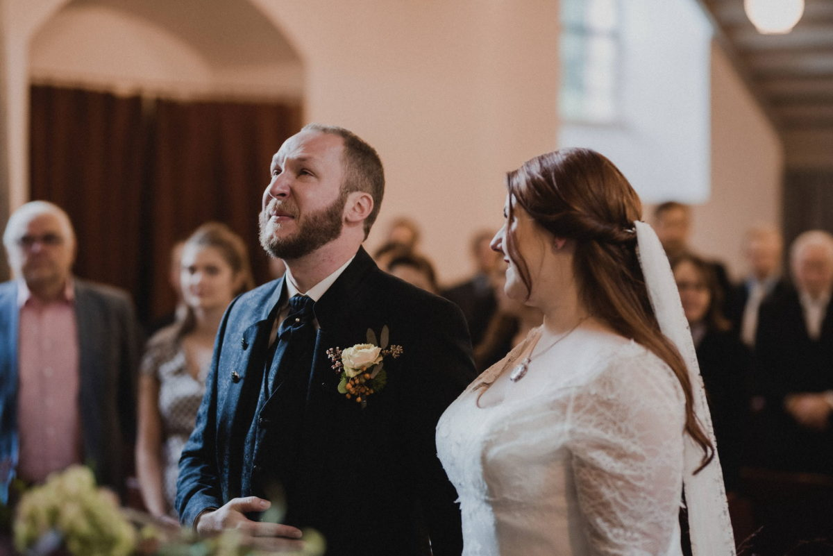emotionaler Moment,weinen vor freude,Wedding,Couple