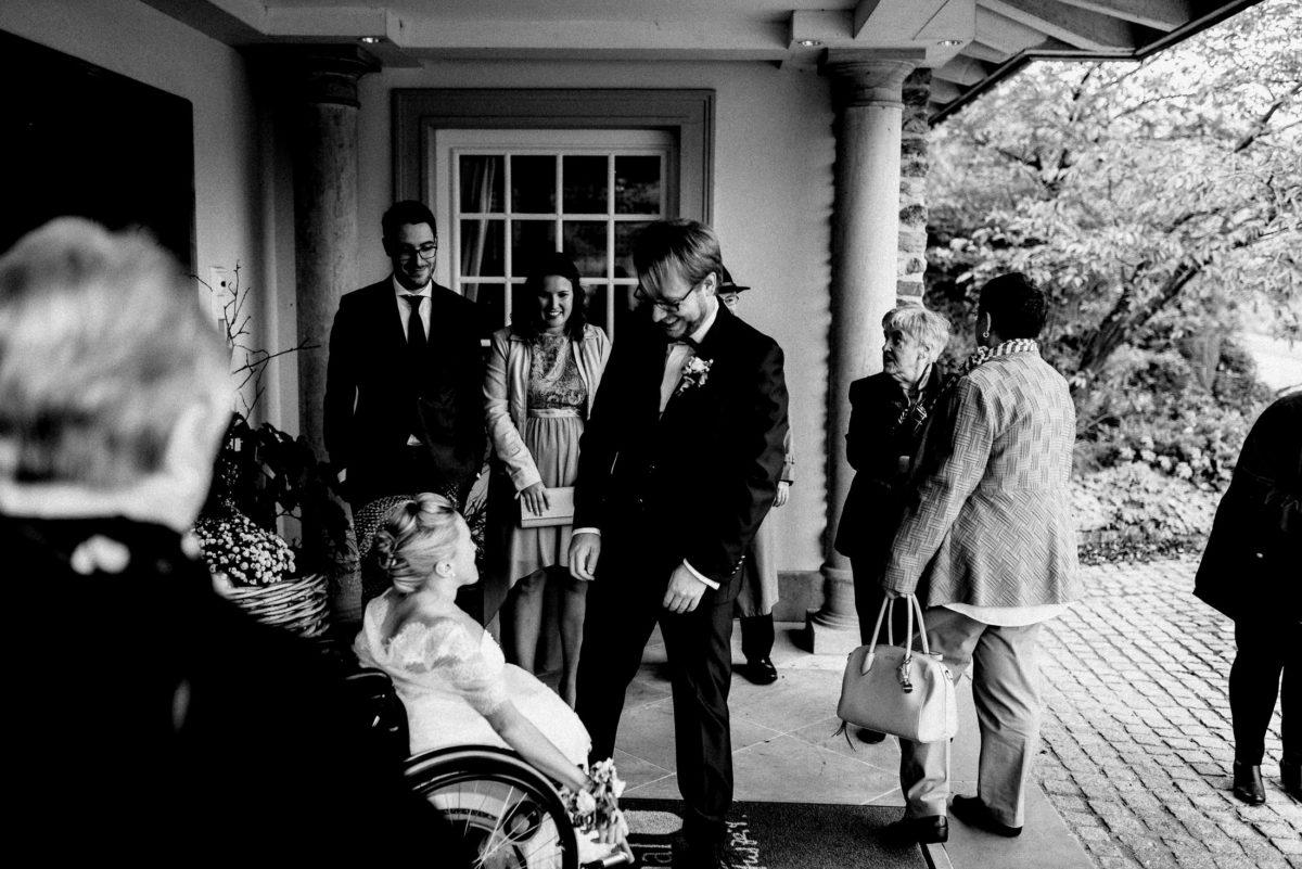 First Look,Braut und Bräutigam,Gäste