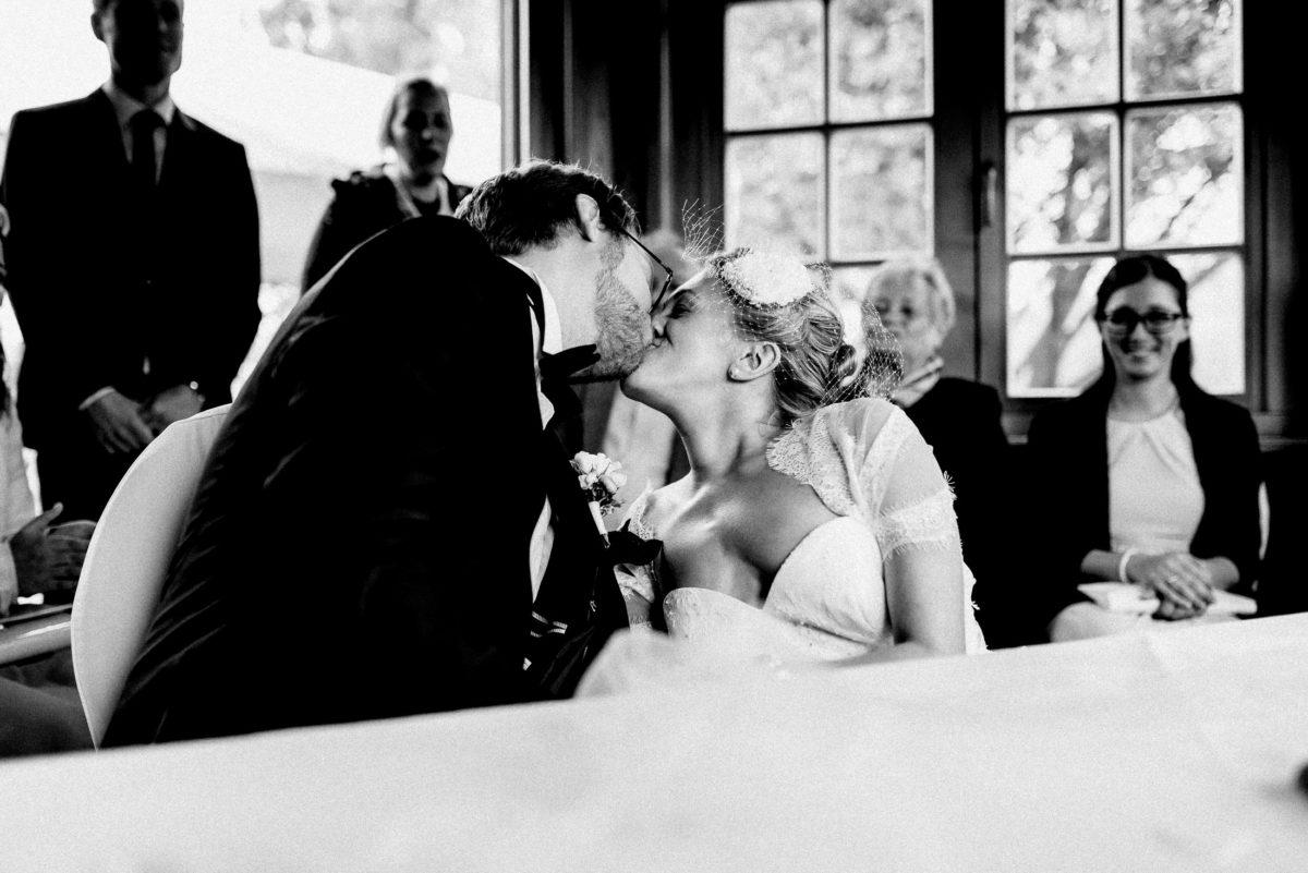 Kuss,Wedding,Trauung,Braut und Bräutigam
