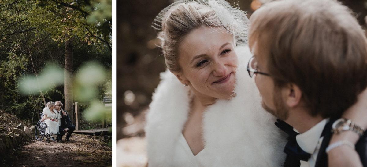 Fotoshooting,Brautpaar,Zweisamkeit,innige Blicke