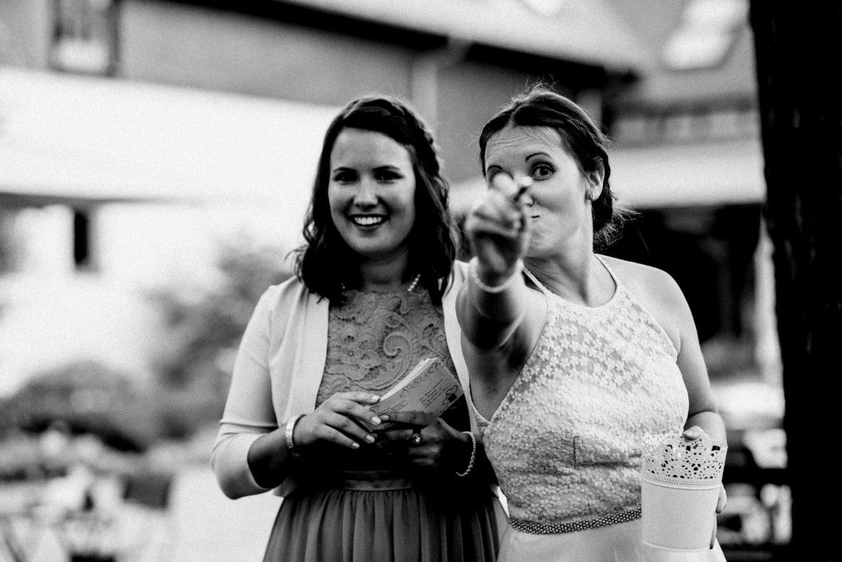 Blödsinn machen, lachen,ausgelassene stimmung,Hochzeit