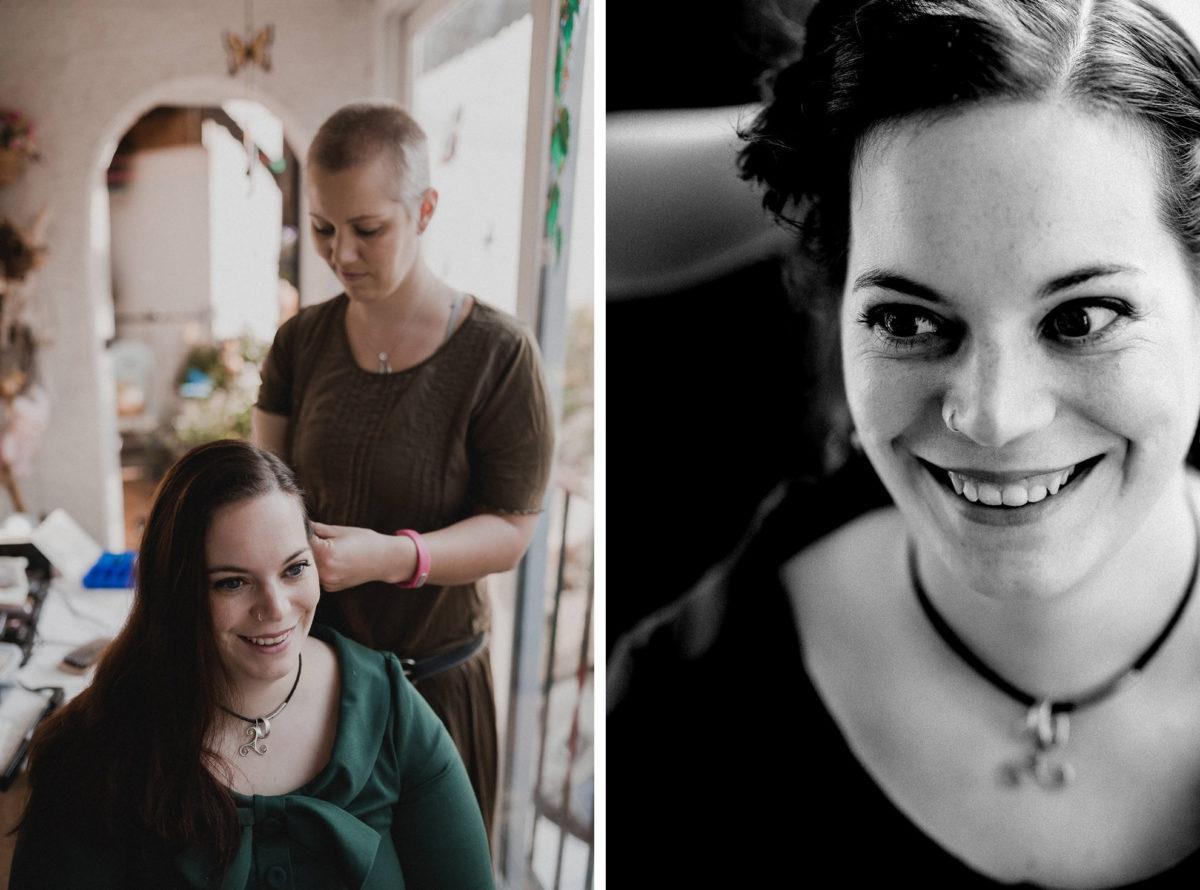 Brautstyling,Haare stylen,flechten,Christine Raab