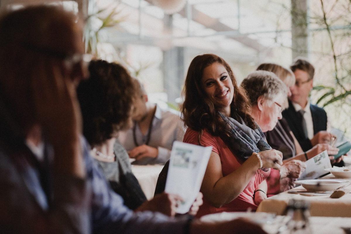 Hochzeitsgäste,Menükarte,Tische
