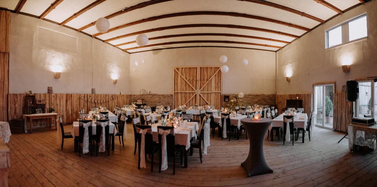 Marienhof Fecher,Scheune,Hochzeitsdekoration,Lampions
