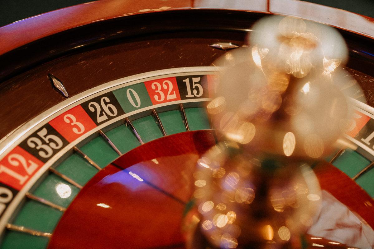 Roulette,Casino,Hochzeitsparty,Rot,schwarz,grün,Zahlen