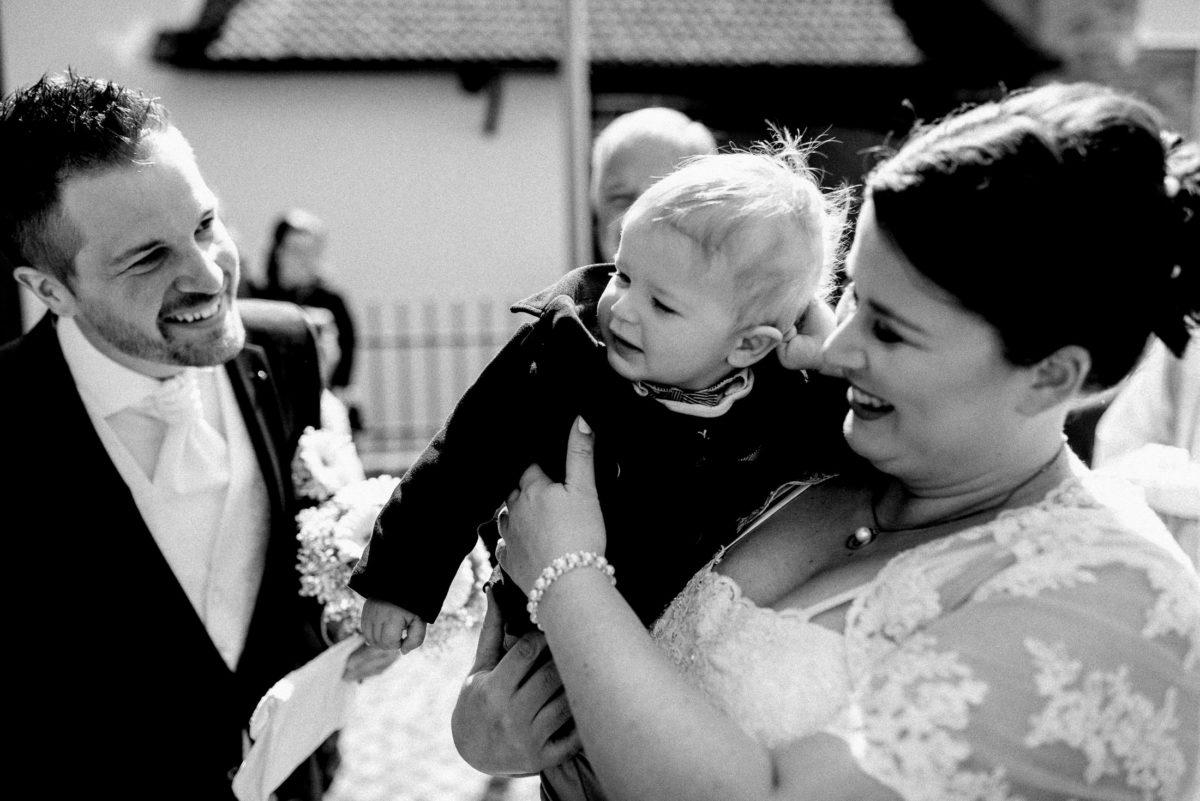 Brautpaar,Mann,Frau,Kind,