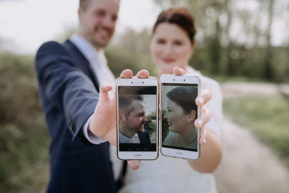 Huawei Handy,Selfies,Portrait,Braut und Bräutigam