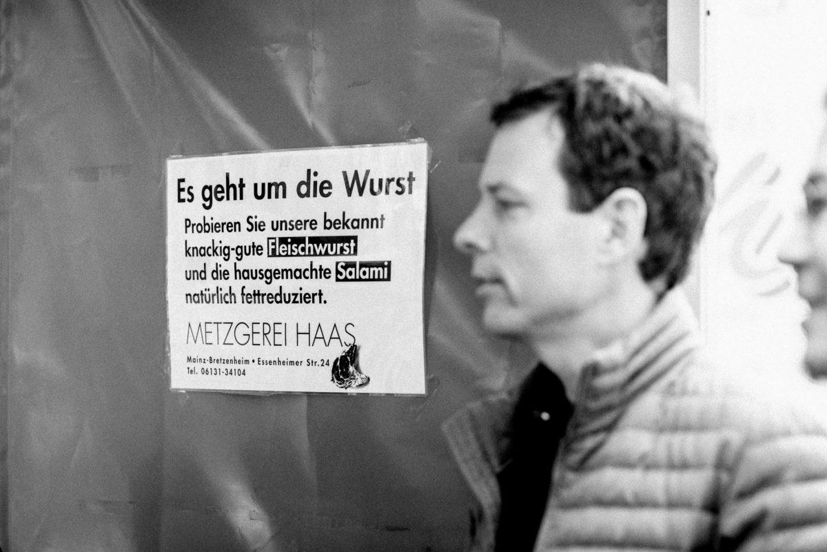 Metzgerei Haas,Es geht um die Wurst,Bräutigam
