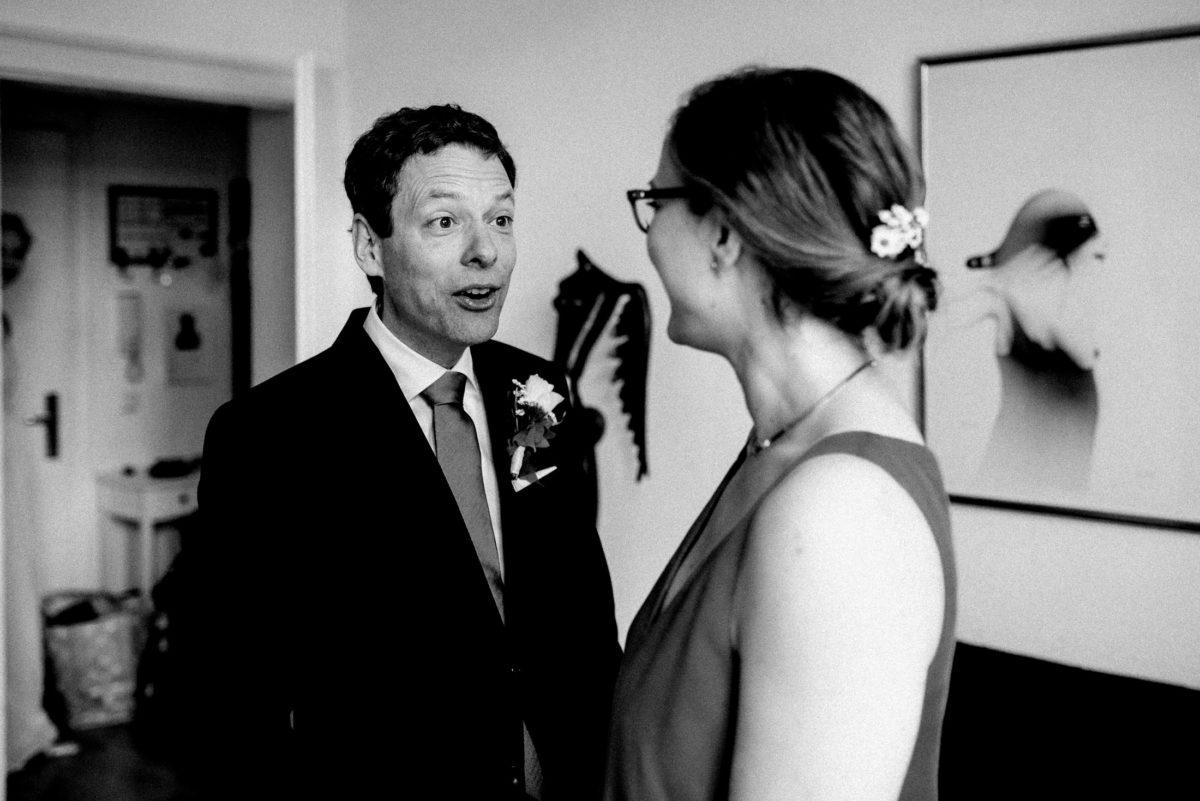 erster anblick,Wedding,Mann,Frau,Überraschung,freude
