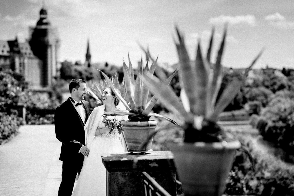 Schlossgarten,Brautpaar,Shooting,Schloss Johannesburg